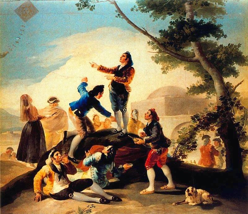 O Cometa - Goya, Francisco e suas pinturas ~ Foi um importante pintor espanhol da fase do Romantismo