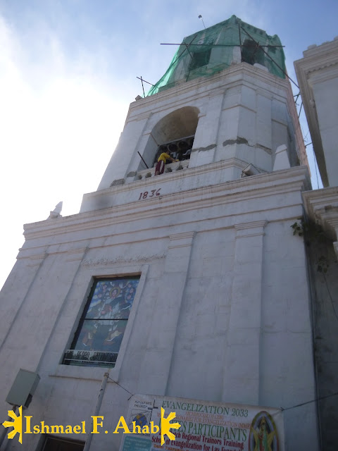 Cebu Metropolitan Cathedral Belfry Damaged by Bohol Earthquake