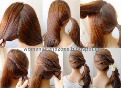 Enjoyable Quick Easy Hair Do Hairstyles For Women Draintrainus