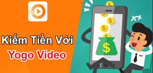 yogo video, yogo video kiếm tiền, hướng dẫn kiếm tiền với yogo video, ứng dụng yogo video