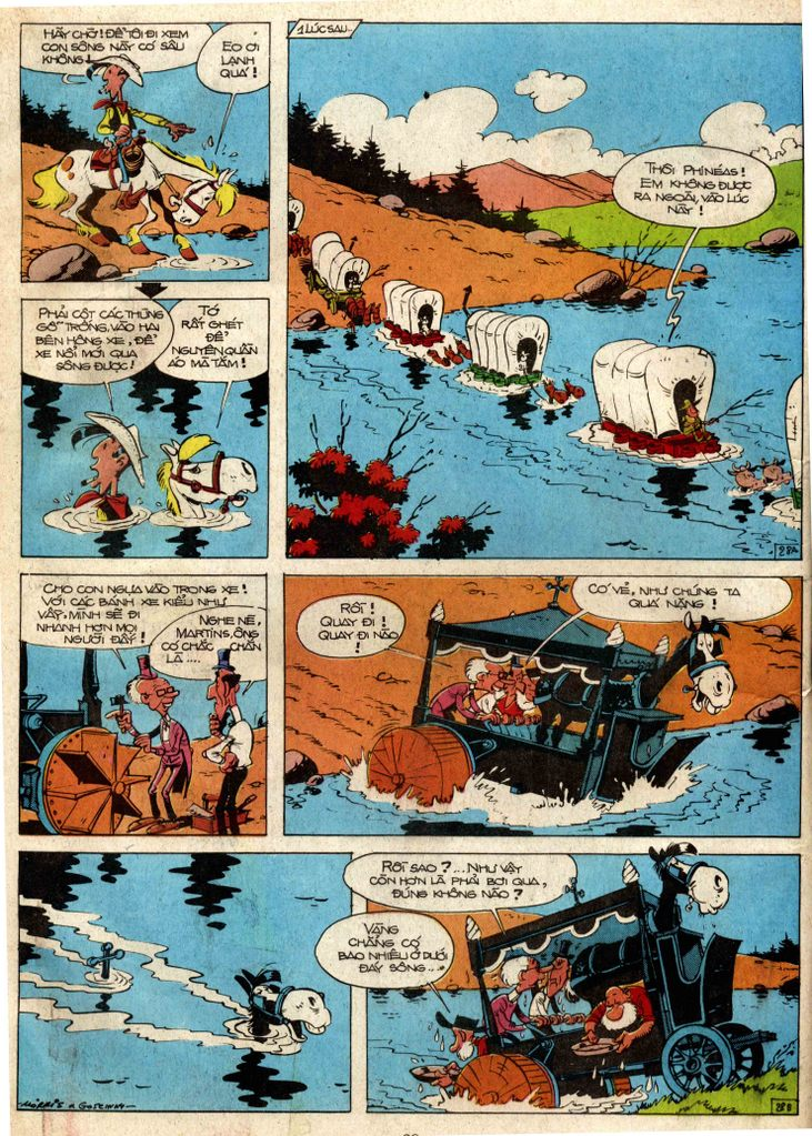 Lucky Luke tap 3 - doan lu hanh trang 27