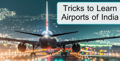 Tricks to Learn Airports of India