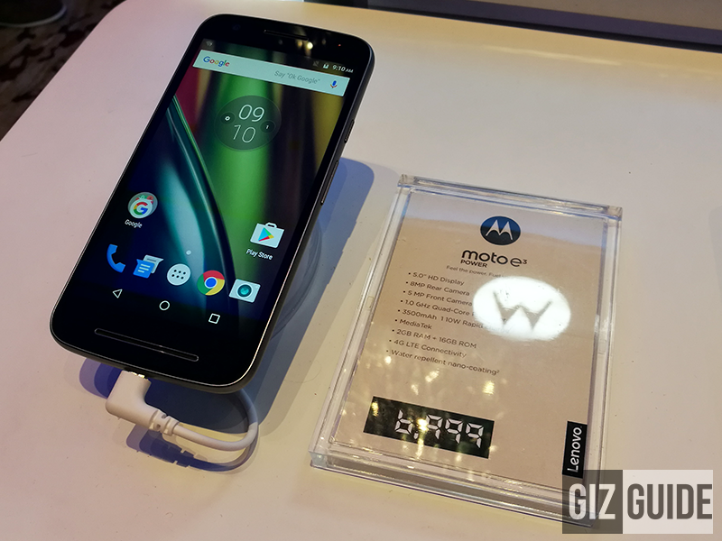 Moto E3 Power With VoLTE Goes Official In The Philippines, Retails For PHP 6999!