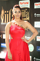 Anasuya in Red Single Shoulder Sleeveless Gown at IIFA Utsavam Awards 2017  Day 2  Exclusive 12.JPG
