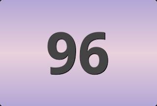 เลขท้ายสองตัวที่ออกบ่อย, เลขท้ายสองตัวที่ออกบ่อย 96