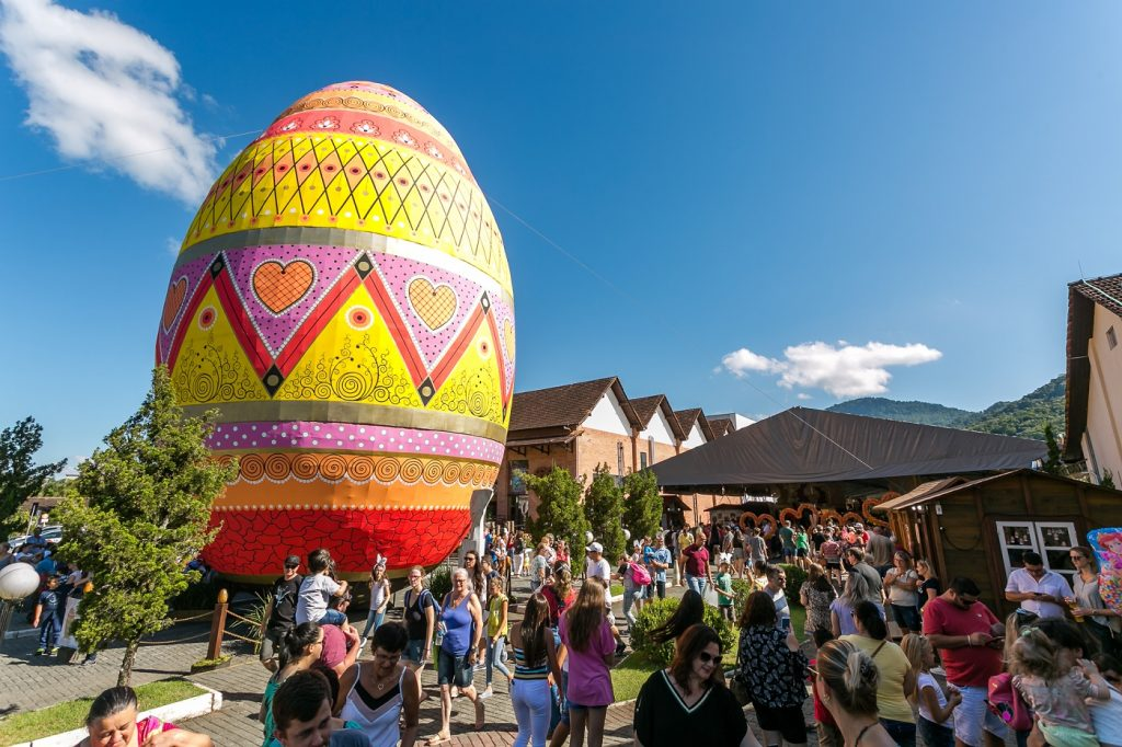 visite Pomerode na Páscoa e conheça o maior Ovo de Páscoa do mundo