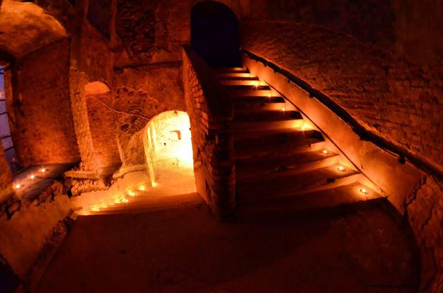 Oświetlenie zamku autorstwa Kingi