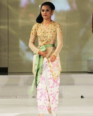 Inspirasi Model Kebaya Muslim Khas Bali Untuk Kondangan