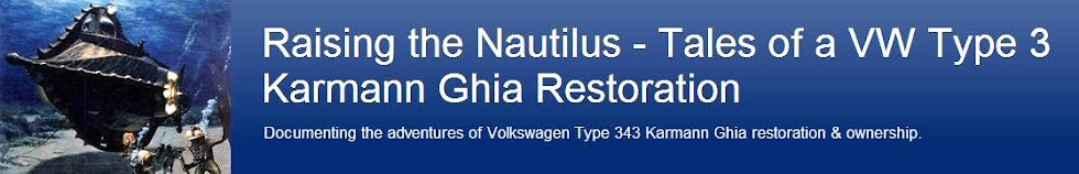 Raising the Nautilus - Tales of a VW Type 3 Karmann Ghia Restoration