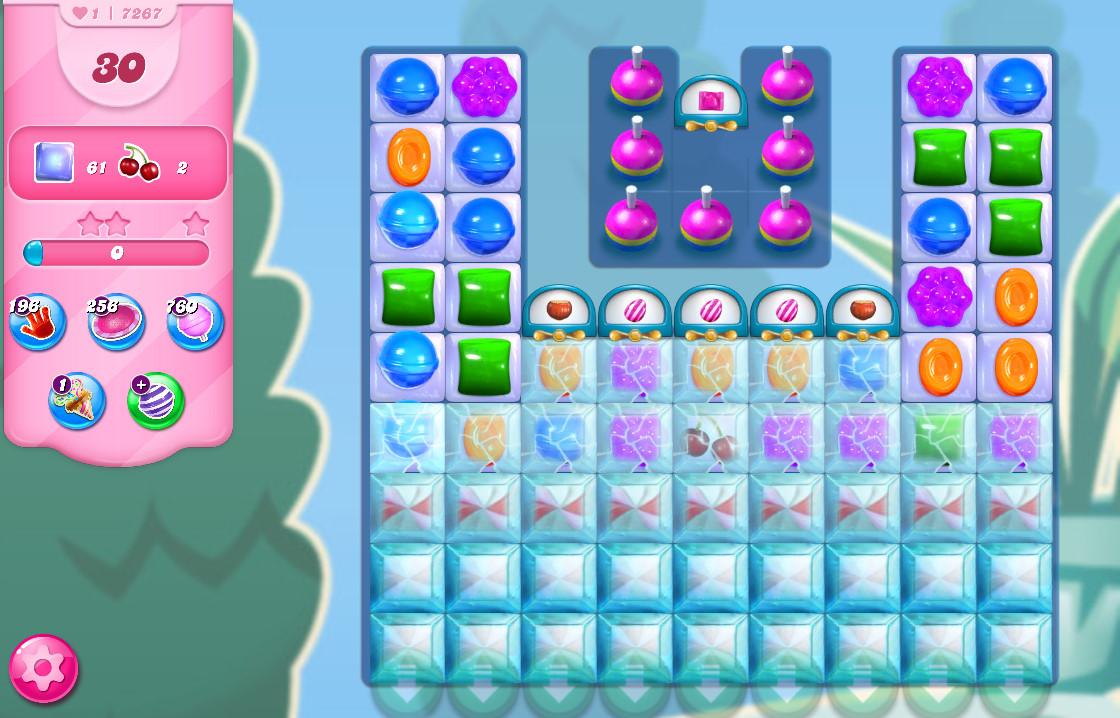 Candy Crush Saga level 7267
