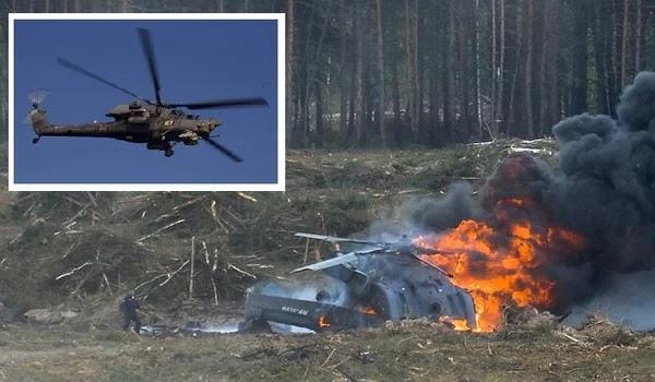 Συρία: Νεκροί δύο Ρώσοι πιλότοι κατά συντριβή του ελικοπτέρου