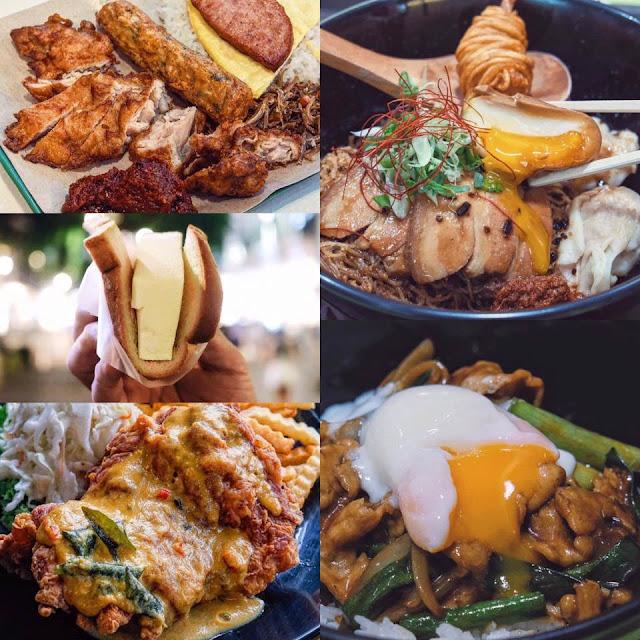 Singapore Hawker Food Scene