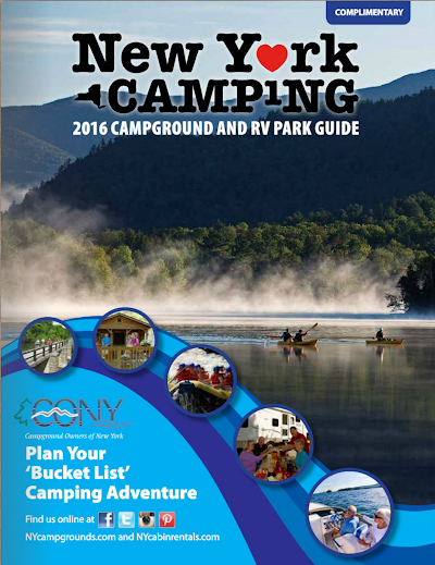 2016 New York Campground & RV Park Guide now available