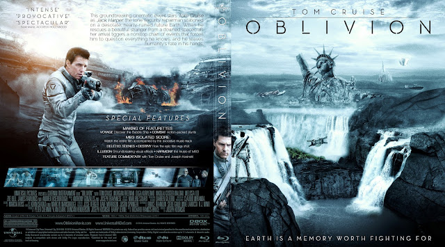 Capa Bluray Oblivion