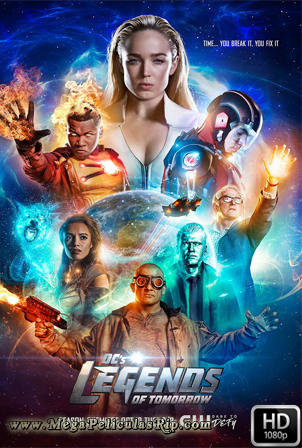 Legends of Tomorrow Temporada 3 [720p] [Latino-Ingles] [MEGA]