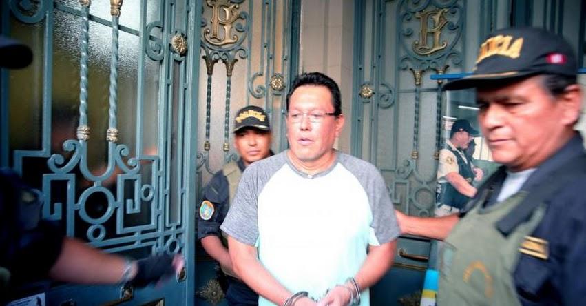 FÉLIX MORENO: Gobernador regional del Callao fue recluido en el penal Ancón I por caso Odebrecht