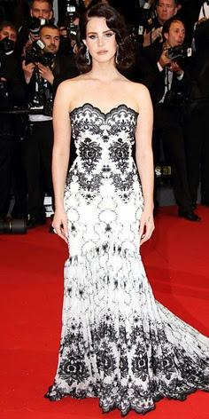 Lana Del Rey in Lena Hoschek and Chopard jewellery in Cannes 2013