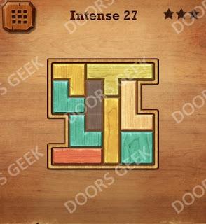 Cheats, Solutions, Walkthrough for Wood Block Puzzle Intense Level 27