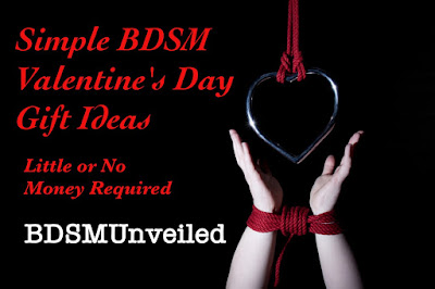 Simple BDSM Valentines Day ideas