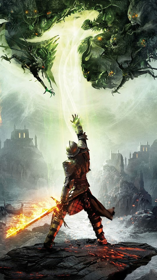 Dragon Age Game  Galaxy Note HD Wallpaper