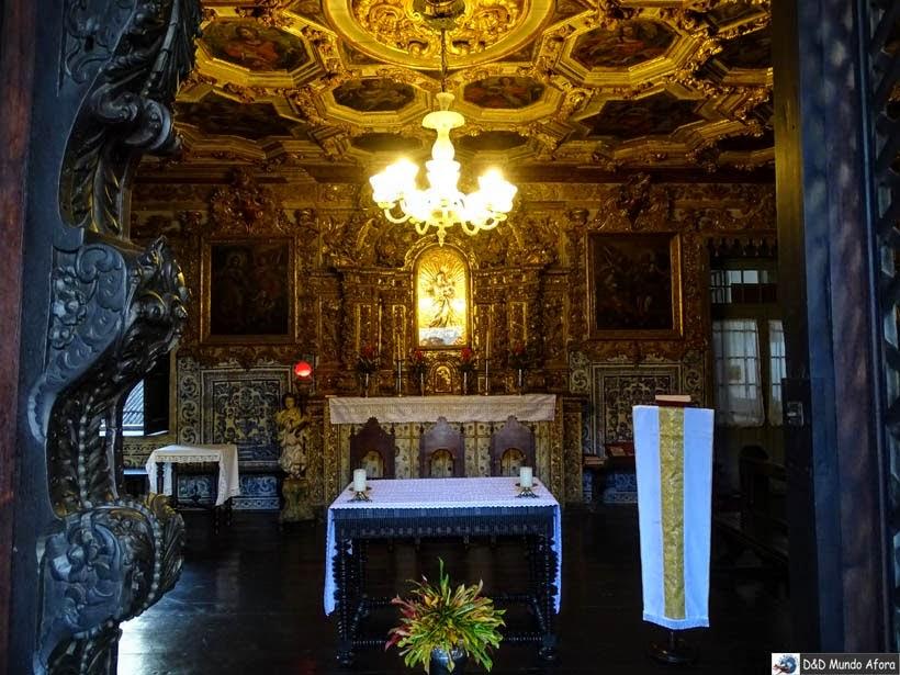 Uma das capelas da Igreja e Convento São Francisco - o que fazer em Salvador