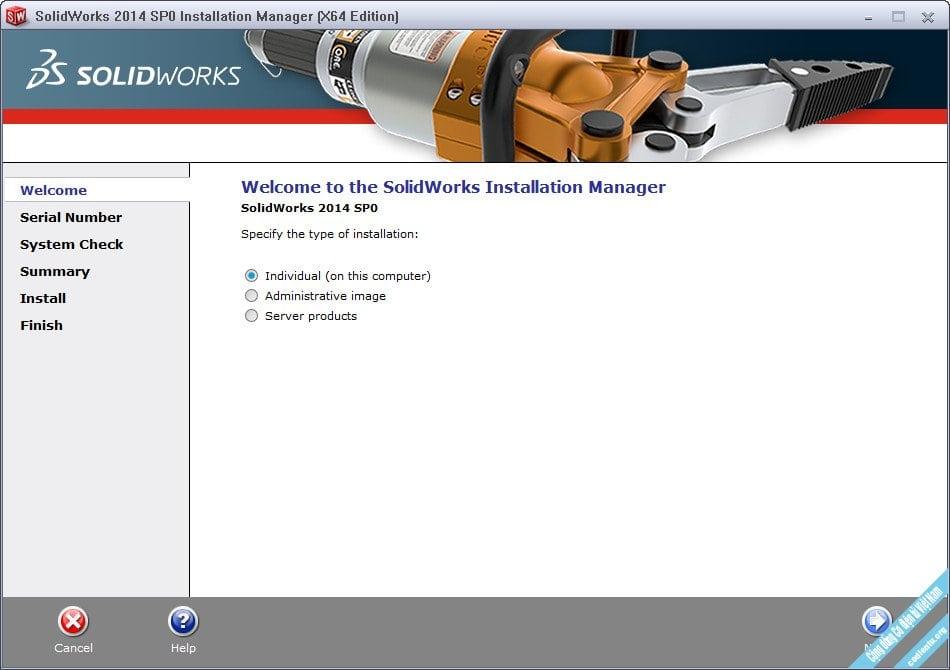 Tải Solidworks 2014 Full Crack + Hướng dẫn cài đặt Solidworks