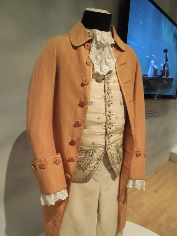 Barry Lyndon costume Stanley Kubrick exhibit LACMA