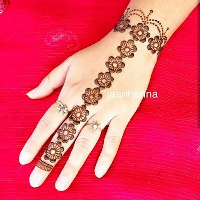 mehandi design image for hand