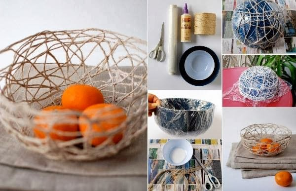 DIY: Make A String Bowl