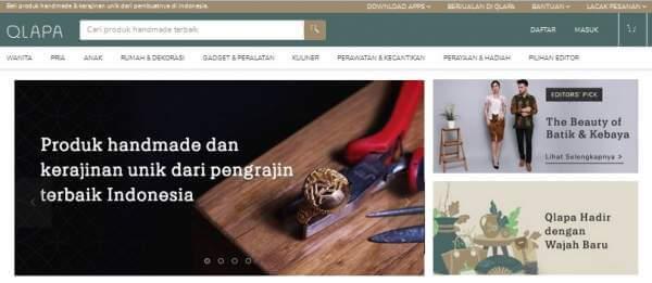 Di Qlapa.com Tempat Terlengkap Mencari Berbagai Produk Handmade Berkualitas Produk Lokal Buatan Anak Bangsa