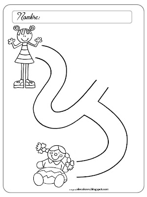 Laberintos para preescolar