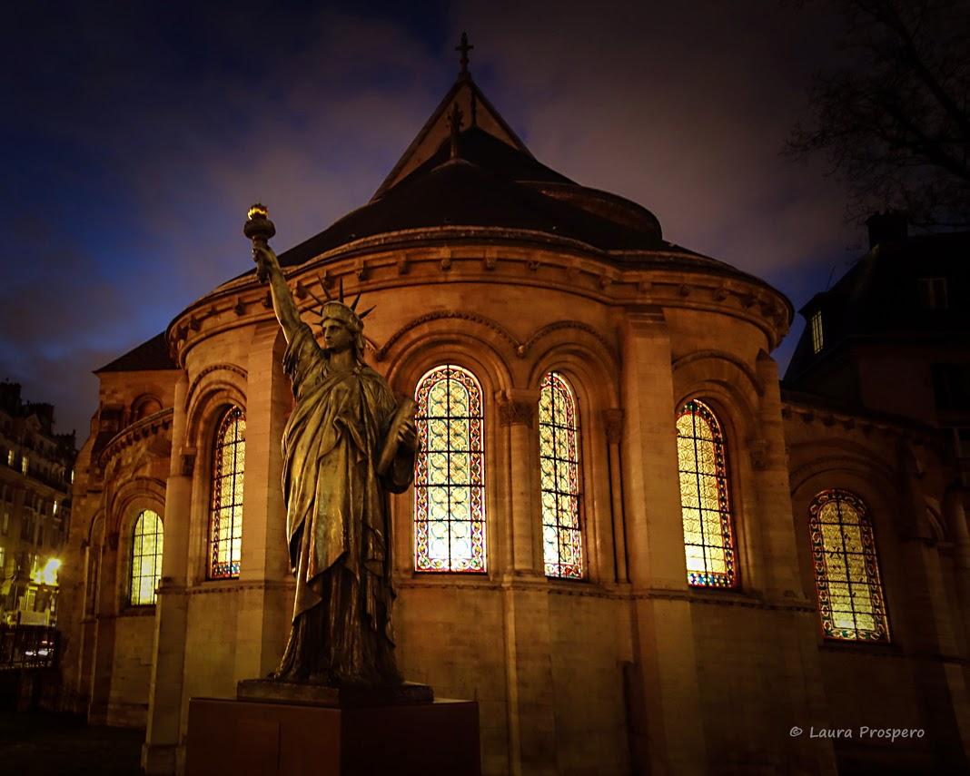Réplica da estatua da Liberdade, Musée des Arts et Métiers, Paris