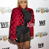 Rapper, Lil Kim attended the premiere of Growing Up Hip Hop