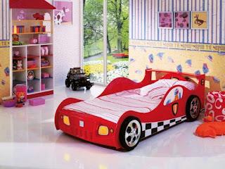 dormitorio tema coches