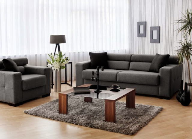 Choosing furniture for minimalist living room