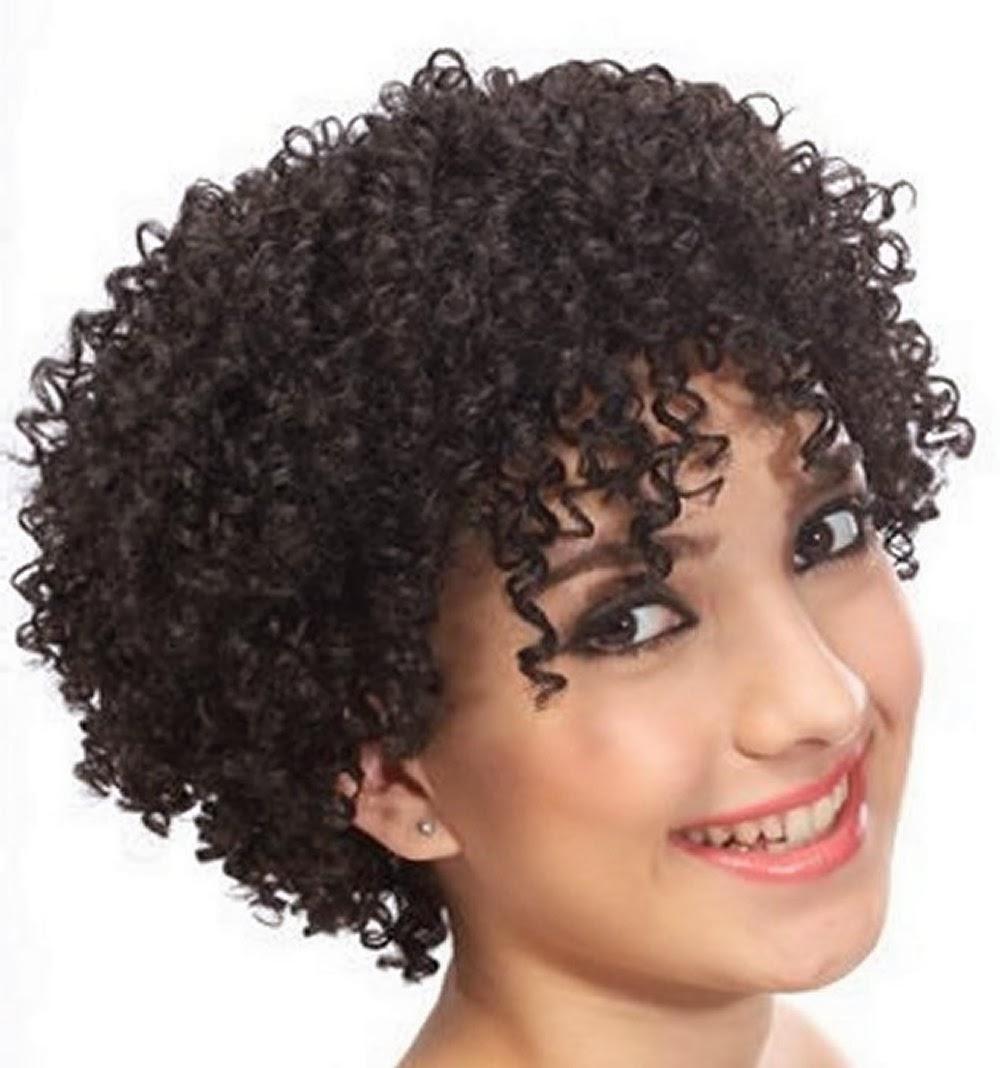 Pleasing Cute Curly Hairstyles For Black Women This Short Hairstyles Gunalazisus
