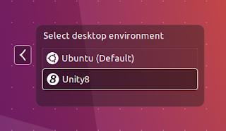 Ubuntu 16.10 Yakkety Yak Unity 8