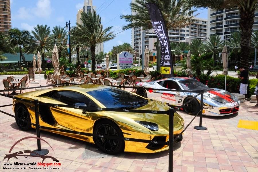 Lamborghini Veneno Gold