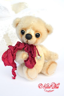 Künstlerteddy, Künstlerbär, Teddybär, Teddy aus Mohair, Unikat handgemacht von NatalKa Creations. Авторский медведь тедди, мишка тедди, медвежонок тедди, ручная работа от NatalKa Creations