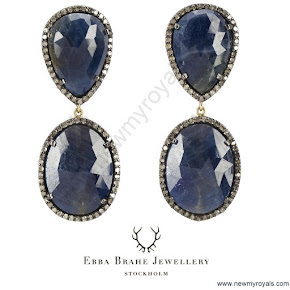Crown princess Victoria Style EBBA BRAHE Earrings