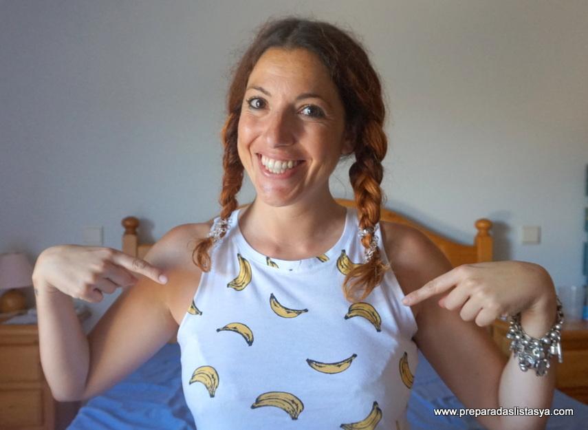 Camiseta de plátanos