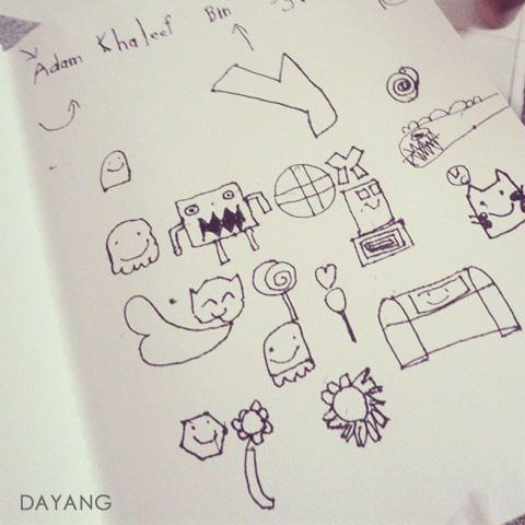 Doodle Art By Adam Khaleef