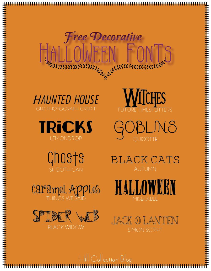 The Top 10 Free Halloween Fonts   Darling Do