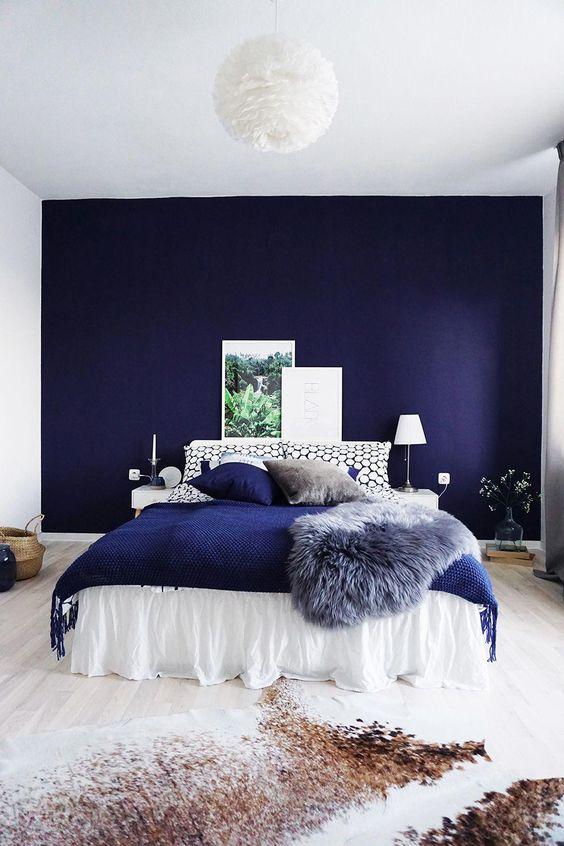 56 Mens Blue Bedroom Ideas