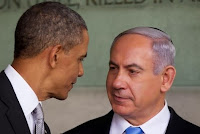 Obama and Benjamin Netanyahu