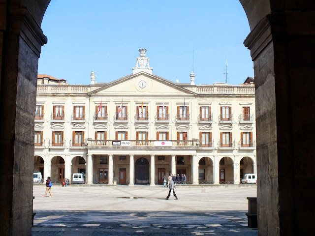plaza nueva de Vitoria