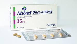 حبوب أكتونيل Actonel لعلاج هشاشة العظام