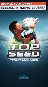 TOP SEED Tennis Manager Mod Apk Terbaru Versi 2.18.5 Update September 2017