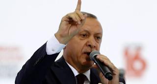 Turkey's Erdogan says German leaders are enemies