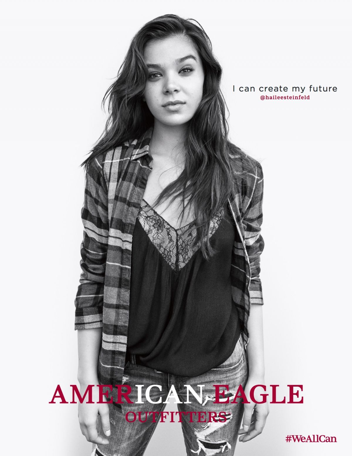 Hailee Steinfeld Photo Shoot For American Eagle's We All Can Fall 2016 Campaign